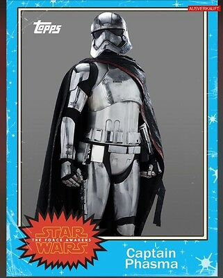 TOPPS Star Wars Card Trader: Topps Classic series 1 Captain Phasma (1 card)