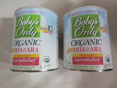 Baby's Only Organic LactoRelief with DHA & ARA Formula -2 -  12.7 oz cans