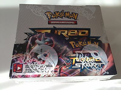 XY8 TURBOstart Booster Box Display Pokémon OVP Extrem Selten Deutsch