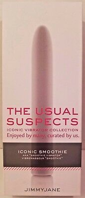 Jimmyjane The Usual Suspects Iconic Collection Vibrator Smoothie