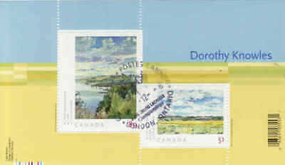 Canada 2006 Dorothy Knowles Souvenir Sheet Used