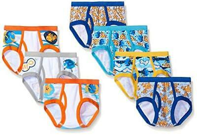 Disney Little Boys Toddler Nemo Dory 7 Pack Underwear Brief Assorted Size 4T New