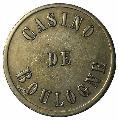 Undated France Casino De Boulogne French Gambling Gaming Token
