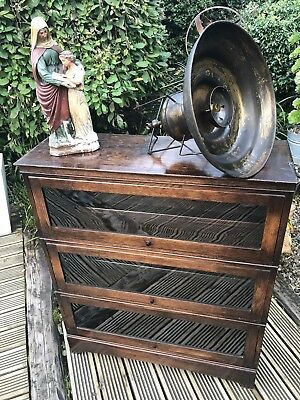 Vintage Industrial Globe Wernicke Style Bookcase/Cabinet