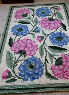 Beth Russell colour needlepoint tapestry chart CHRYSANTHEMUM RUG William Morris