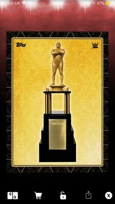 Topps WWE Slam- Andre The Giant Memorial Battle Royale Award