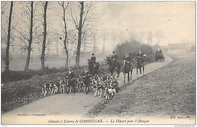 60-Compiegne-Chasse A Courre-N°290-D/0075