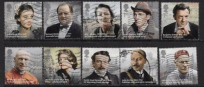 1) GB Stamps 2013  Great Britons. Good used.