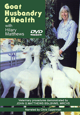 DVD Goat Husbandry Care Livestock Farming Goats Stock Herd Breeding