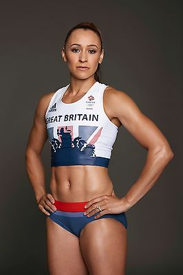Jessica Ennis - Hill  2016 Rio Olympics A4 Glossy Photo Poster Reprint New