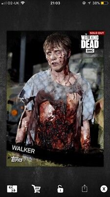 Topps The Walking Dead Card Trader- Toxin Base Walker 25cc