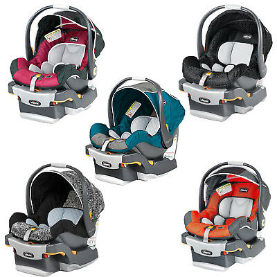 New Chicco Keyfit Infant Baby 5 Point Harness Car Seat and Base