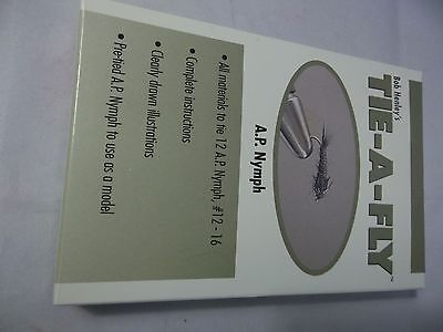 Bob Henley's Tie-a-fly Kit A. P. Nymph size makes 12 flies with directions!