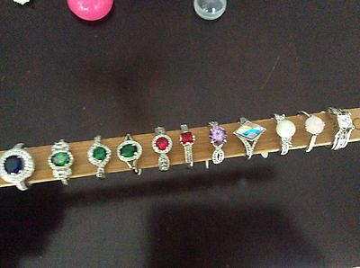 Fragrant Jewels Rings ~ Size 7 ~ Lot of 12