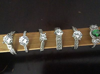 Fragrant Jewels Rings ~ Size 7 ~ Lot of 6