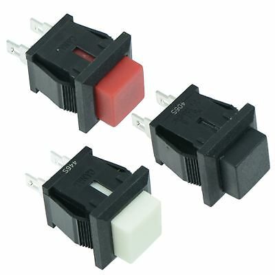 Square Momentary Push to Make or Break Push Button Switch 1A SPST
