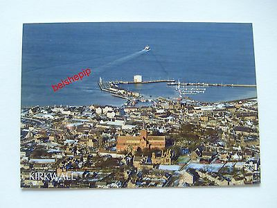 Church Bay & St Magnus Cathedral, Kirkwall, Orkney, Postcard