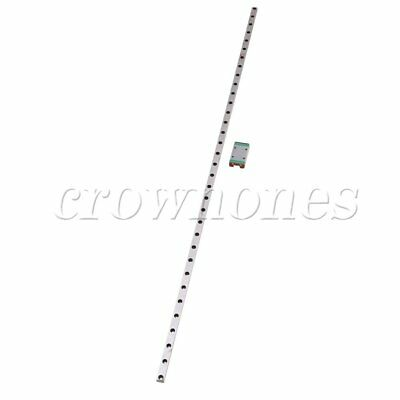 MGN7 Linear Rail Guide Slide 500mm Length With Linear Extension Block