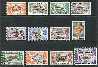 Cameroons Trust Territory: 1960 Set of 12 Stamps SG T1-12 LMM AW151