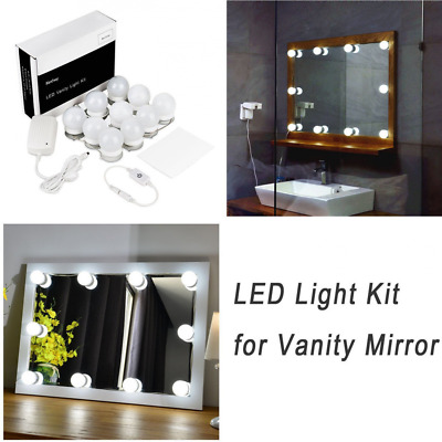 WanEway Hollywood Style LED Vanity Mirror Lights Kit For Makeup Dressing Table
