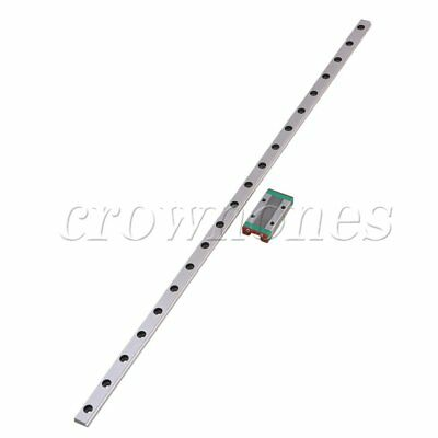 MGN9 Linear Rail Guide Slide 400mm Length With Linear Extension Block