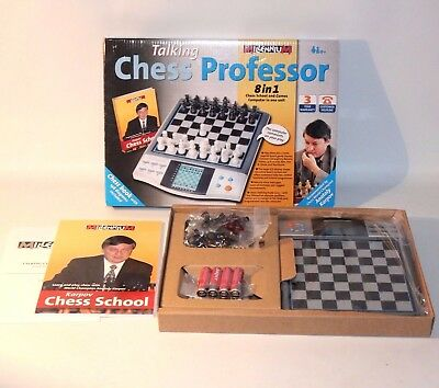 ✨ Talking Chess Professor ~ Electronic Anatoly Karpov Games Computer Learning ✨