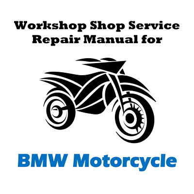 Workshop Shop Service Repair Manual for BMW R1200GS Adventure - ALL YEARS