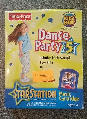Fisher Price Star Station Music Cartridge Dance Party 5