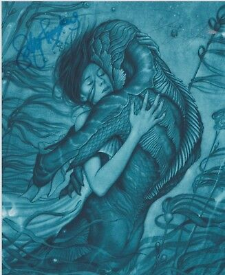 The Shape of Water Sally Hawkins Doug Jones RARE PROMO DUEL-SIGNED RP 8x10 WOW!!