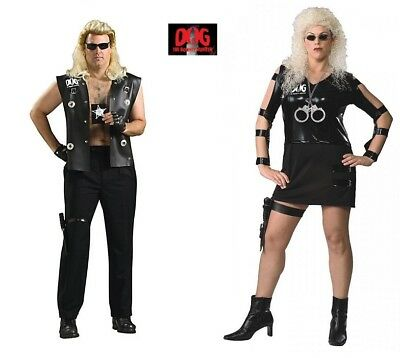 The Bounty Hunter Dog men's and  Beth Women's Adult costume Rubies New
