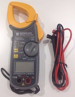 Konstar Solid State Protection Digital Clamp Meter 2047 With Case