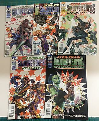 Comics Star Wars Shadows of the Empire Evolution Complete Set of 5