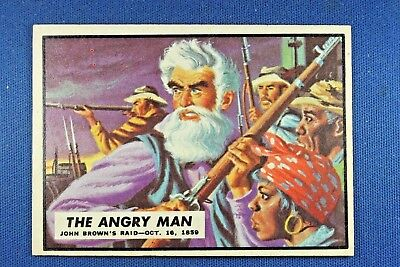 "1962 Topps Civil War News - #1 ""The Angry Man"" - Excellent Condition"
