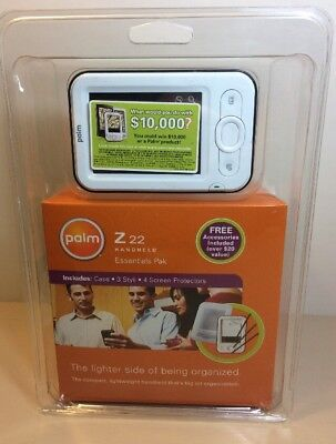 Palm Z22 32MBHandheld PDA  New In Box Essentials Pak