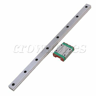 MGN15 Linear Rail Guide Slide 300mm Length With Linear Extension Block