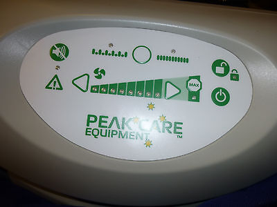 Peak Care electric hospital bed alternating overlay