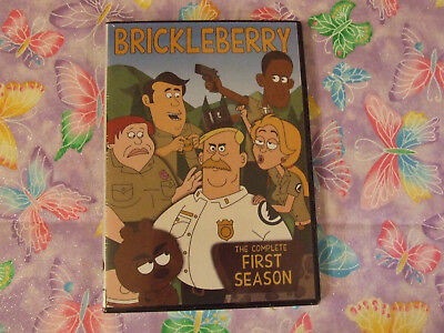 Brickleberry: The Complete First Season (DVD, 2013, 2-Disc Set) BRAND NEW