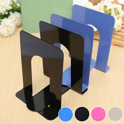 1*Big Heavy Duty Metal Bookends Book Ends Home & School Office Stationery Solid