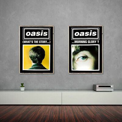 Oasis What's the story...? Morning Glory Poster duo - Collectors set!