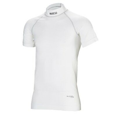 T-Shirt Manches Courtes SPARCO Nomex RW-9 Blanc Rally