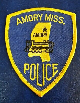 Amory, Mississippi Police Shoulder Patch Ms