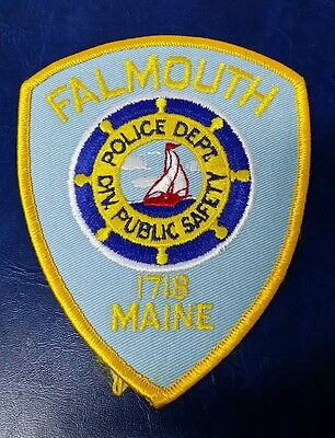 Falmouth, Maine Police Shoulder Patch Me