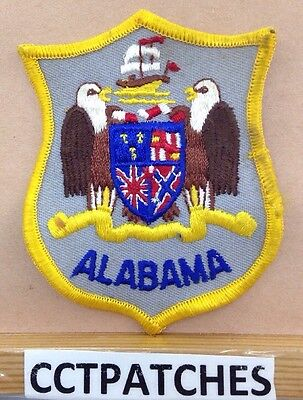 Alabama State Crest Seal Patch