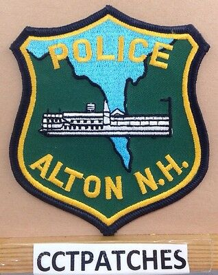 Alton, New Hampshire Police (Dark Green) Shoulder Patch Nh