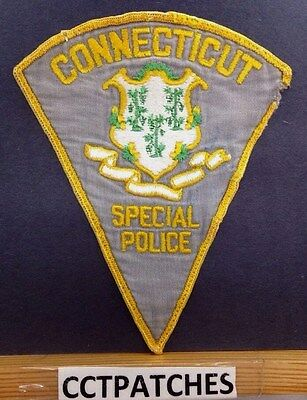 Connecticut Special Police Shoulder Patch Ct