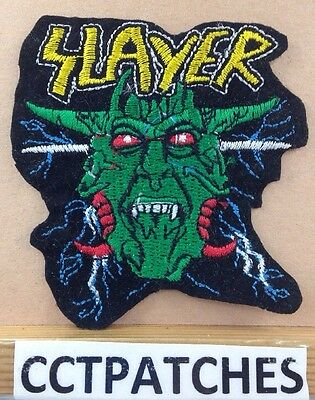 Slayer Heavy Metal Band Patch