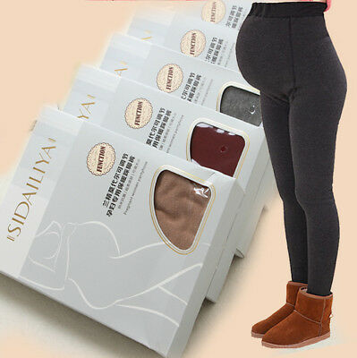 Pregnant Women Adjustable&Breathable Maternity Leggings Over Bump Pedal Casual