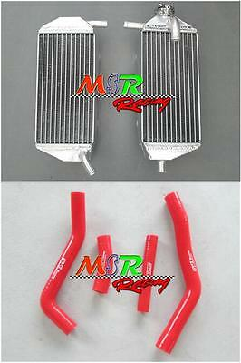 for YAMAHA YZ450F YZF450 YZ 450F 2010 2011 2012 2013 radiator & hose red new
