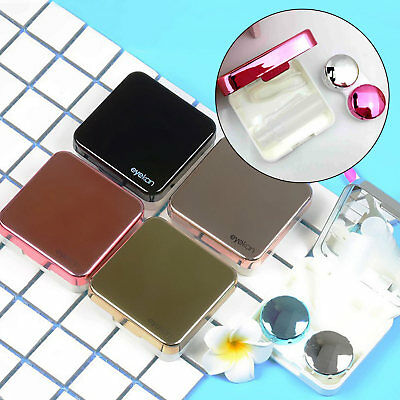 Portable Contact Lens Case Box Container Travel Eye Care Kit Mini Pocket Holder