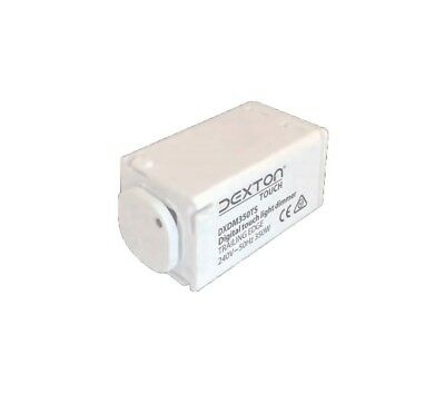 LED Downlight Push Button Dimmer With Mini Light Trailing Edge CLDM350TS